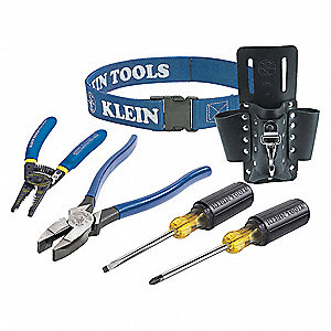 General Hand Tool Kit, Number of Pieces:  6, Application:  Trim-Out