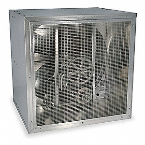 Cabinet Supply Fan,48 In,208-230/460 V