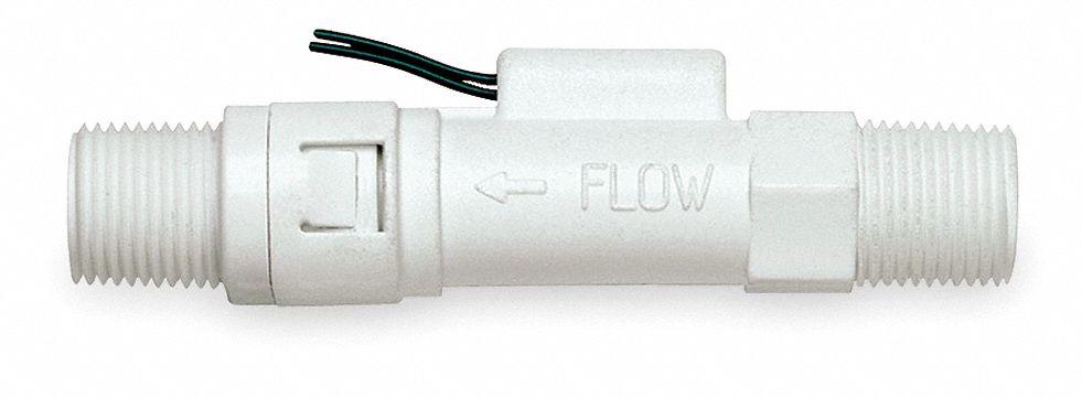 Gems sensors mnpt piston liquid flow switch gpm