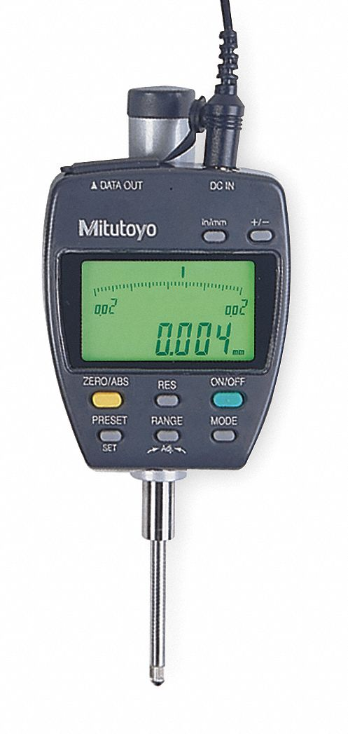 Digital Indicator Parts : Mitutoyo electronic digital indicator quot mm range