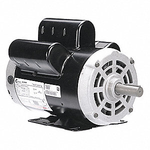 5 HP Air Compressor Motor,Capacitor-Start/Run,3450 Nameplate RPM,230 Voltage,Frame 56HZ