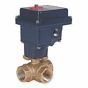 Electronic Actuated Ball Valve