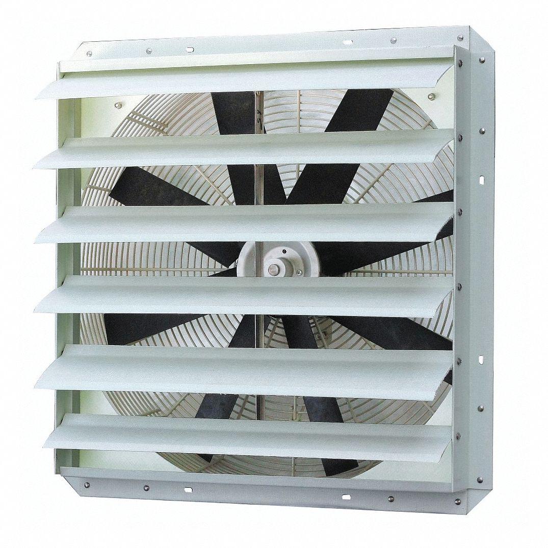 Dayton Exhaust Fan 24 In 115 V 5448 Cfm 1blj7 1blj7