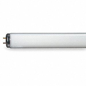 "Linear Fluorescent Lamp, Medium Bi-Pin (G13) Base Type, 48"" Length, 20,000 hr. Average Life"