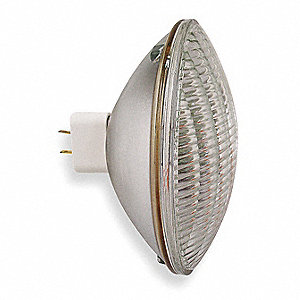 Incand Sealed Beam Spotlight,PAR64,1000W