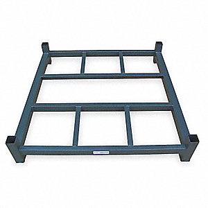 "Stack Rack Base, 6-1/4"" Height, 60"" Width, 2000 lb. Load Capacity"