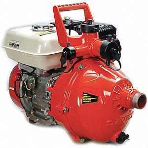 5-1/2 HP Aluminum 163cc High Pressure Fire Fighting Pump, Manual Start
