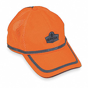 Baseball Hat,Hi-Vis Orange,Universal