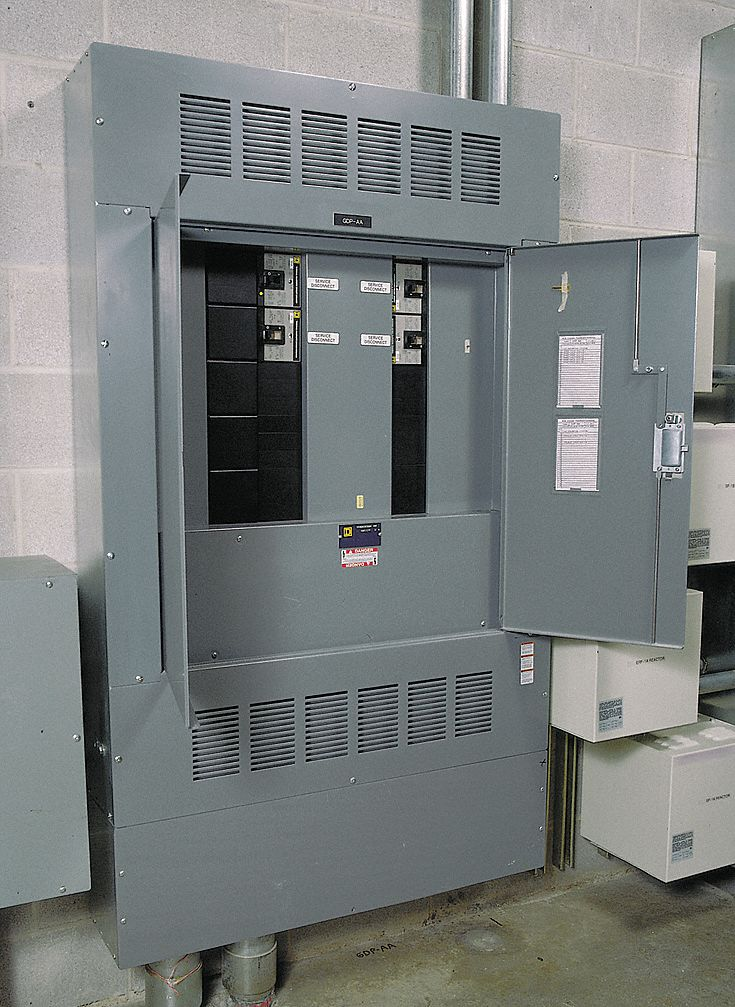 Square D Panelboard Interior 600 Amps 600vac 250vdc