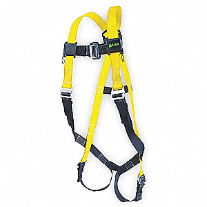 Full Body Harness,Universal,400 lb.,Ylw