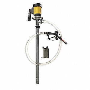 Drum Pump,110VAC,1 HP,60 Hz