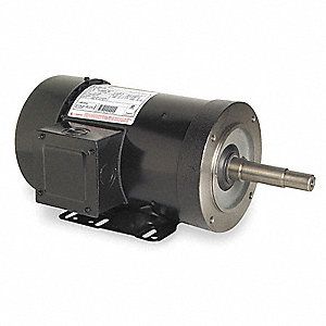 1-1/2 HP Close-Coupled Pump Motor,1725 Nameplate RPM,230/460 Voltage,145JP