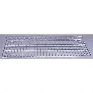 "Chrome Plated Wire Shelf, 48"" Width, 24"" Depth, 225 lb. Capacity"