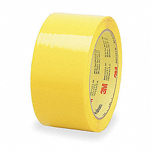 Carton Sealing Tape,Yellow,48mm x 50m