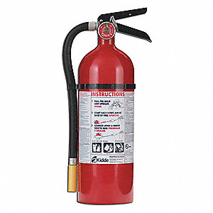 Fire Extinguisher,Dry,ABC,3-A,40-B:C