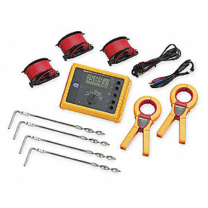 Earth Ground Tester Kit,128 Hz,48VAC