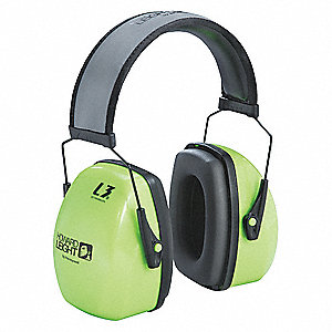 Ear Muff,30dB,Over-the-Head,Green