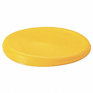 Round Storage Container Lid,Yellow