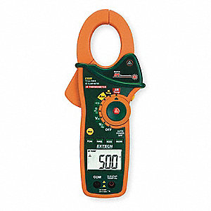 Clamp Meter,1000A,600V,TRMS