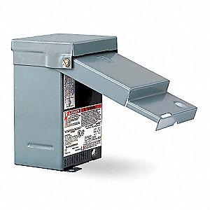 SQUARE D Air Cond Disconnct Swtch,Metallic,240VAC - 1H245..
