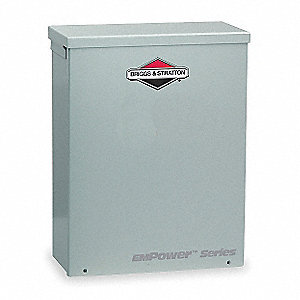 Automatic Transfer Switch,240V,14 In. H