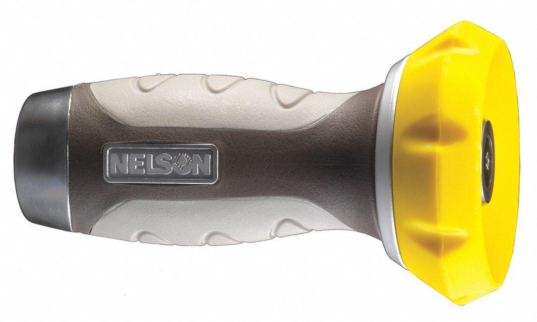 Nelson Fireman S Twist Water Nozzle Twist Flow Control 60