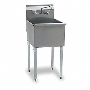 Utility Sink,Stainless Steel,Stainless