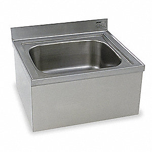 Stainless Steel Mop Sink, Without Faucet