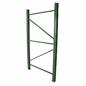 Welded Upright Frame, Steel, 19,380 lb. Load Capacity