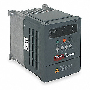Variable Frequency Drive,0.25 Max. HP,1 Input Phase AC,200-230VAC Input Voltage