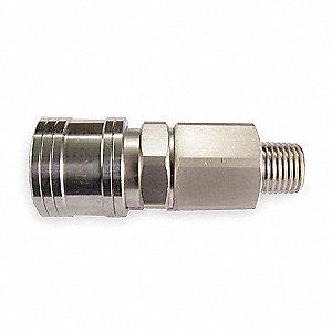 Quick Coupler Body,(M)NPT,1/4,SS