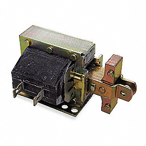 "Solenoid, 120VAC Coil Volts, Stroke Range: 1/8 to 3/4"", Duty Cycle: Continuous"