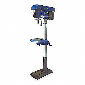 1/2 Motor HP Floor Drill Press, 120