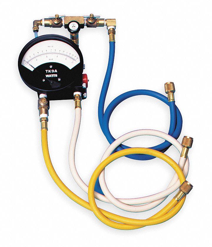 watts backflow preventer test kit 3 valve includes. Black Bedroom Furniture Sets. Home Design Ideas