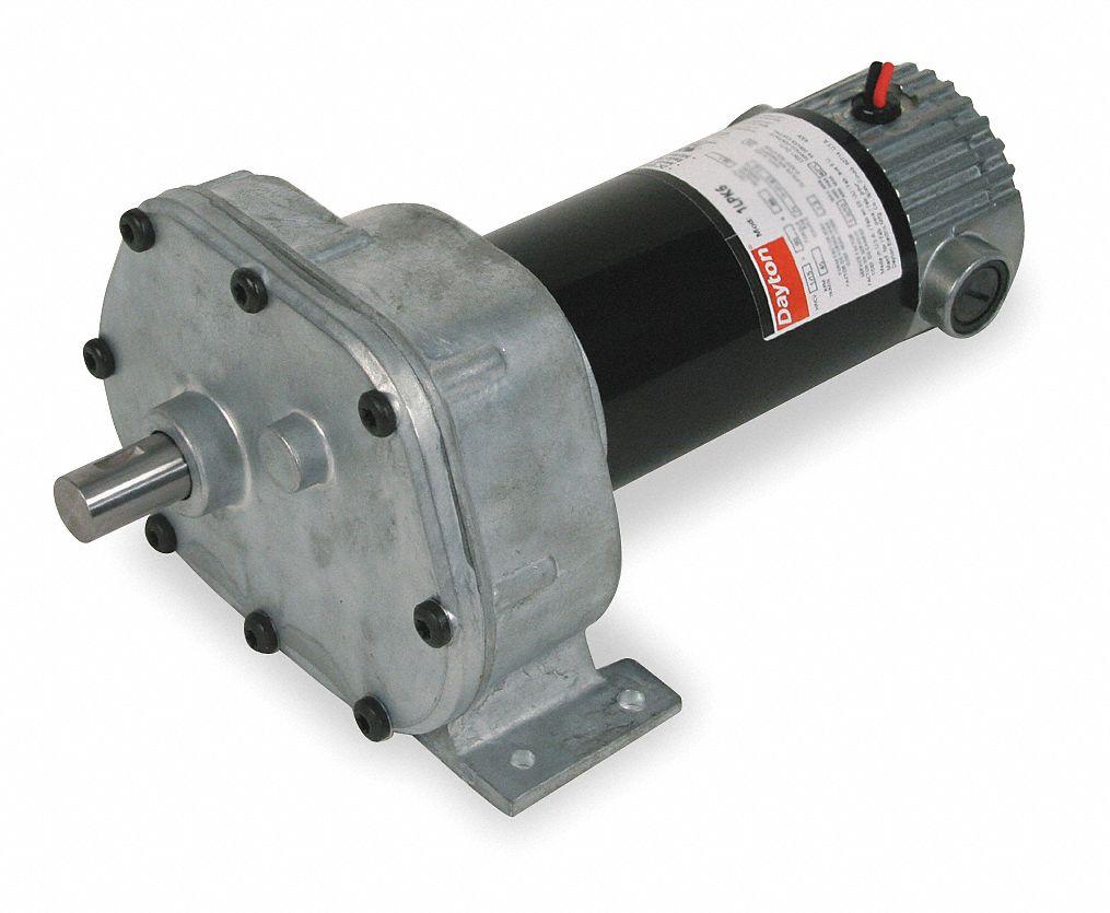 Dayton dc gearmotor 90vdc nameplate rpm 13 max torque for Dayton gear motor catalog