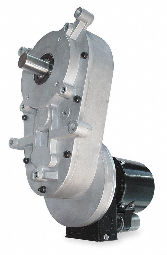 Dayton ac gearmotor 115 230 nameplate rpm 2 max torque for Dayton gear motor catalog