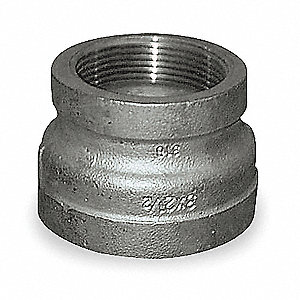 Reducing Coupling,3/8 x 1/8 In,316 SS