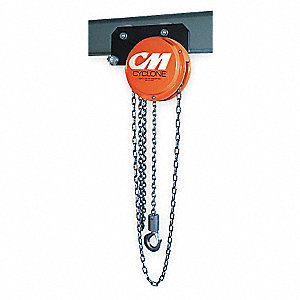 how to use a chain hoist