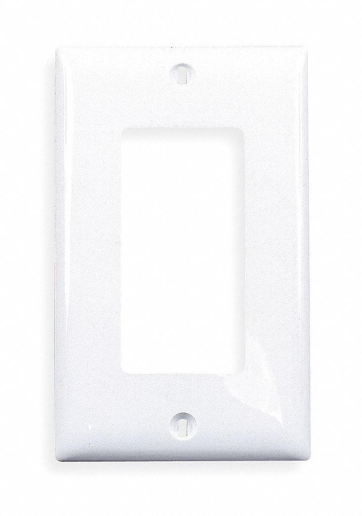 Hubbell Wiring Device Kellems Rocker Wall Plate White