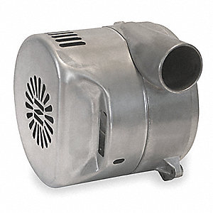 "120 Voltage,Tangential Discharge Brushless Blower,135 CFM,5.7"" Body Dia."