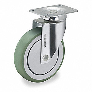 "3"" Swivel Plate Caster, 165 lb. Load Rating"