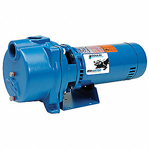 1 HP Centrifugal Pump, 115/230 Voltage, 1-1/2 Inlet (In.), 1-1/2 Outlet (In.)