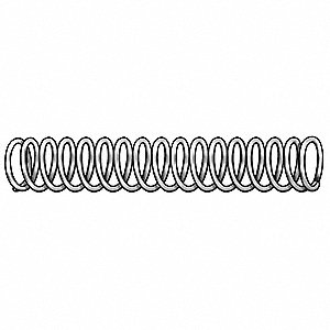 Compress Spring,Stl,1.5 In L,PK12