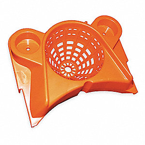 Funnel Mop Wringer, Orange, Copolymer