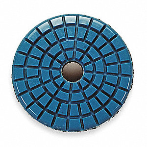 Stone Polishing Pad,3 In,Blue,PK5