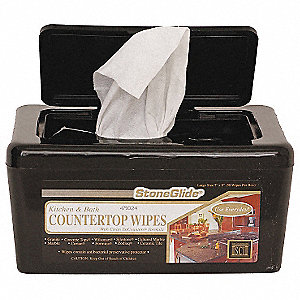 "Clean Fragrance Counter and Cooktop Wipes, 7"" x 10"", 50 Wipes per Container, 6 PK"