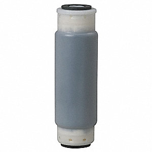 Carbon Filter Cartridge, 5 Microns, Granular Activated Carbon Filter Media, 3 gpm Flow Rate