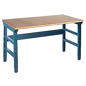 Workbench,60Wx30Dx31-1/2 to 35-1/2 in. H
