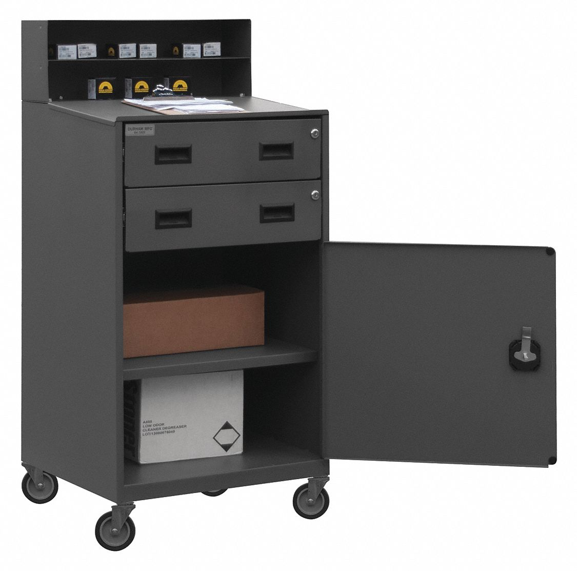 Durham Shop Desk 23 X 51 X 20 In Gray 1pb38 Fed 2023 95