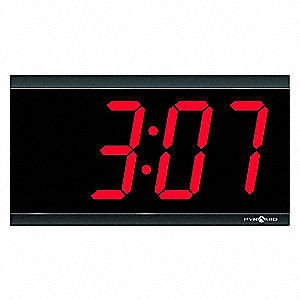 Master Clock,Wired,Digital,4 Digit,4 In